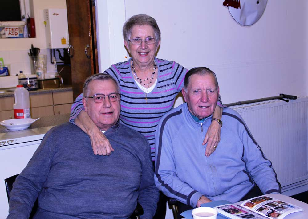 Social Night - Eileen, Roy Mills and Brian Dyson